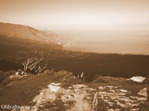 Видъ с вершины Ай-Петри