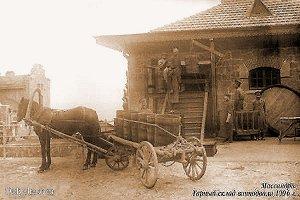 Главный массандровскiй подвалъ - одна изъ выдающихся достопримѣчательностей окрестностей Ялты