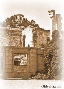 Живопiсныя развалiны дворца