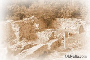 Развалины крепости Харакс