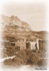 Вид на Алупкинский замок