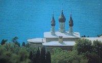 Храм Св. Александра Невского при сан. Св. Луки в Алупке