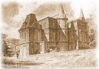 Дворецъ. Акварель Л. Премацци. 1889 г.
