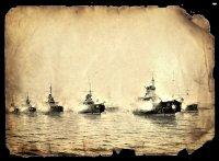И.П. Федоров-Керченский. Корабли Черноморского флота на рейде Севастополя
