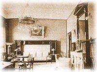 Парадный кабинетъ императора на перовмъ этаже именiя Ливадiя
