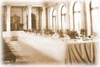 Парадный обедъ въ Большомъ Беломъ зале