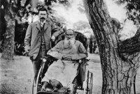 И.Н. Альтшуллер в гостях у Л.Н. Толстого в Гаспре
