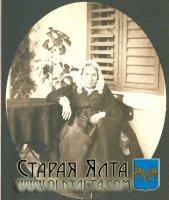 Фотография светлейшей княгини Е.К. Воронцовой. 1870-е годы. Из собрания АДПМЗ