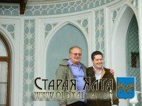 Великий Князь Георгий Романов в Алупкинском дворце