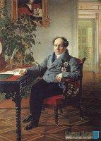 Парадный портрет князя А.Н. Голицына